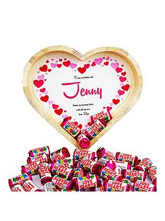 personalised-chocolate-heart-tray