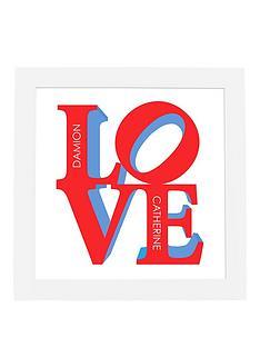 personalised-love-framed-print