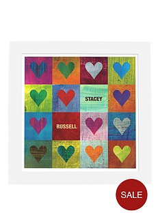 personalised-i-heart-you-framed-print