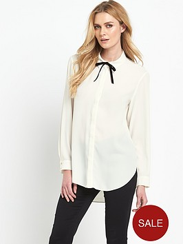v-by-very-lace-cowl-back-blouse