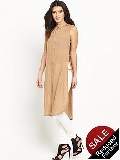 vero-moda-jess-open-sidenbsplong-tunic-shirt