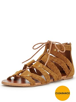 miss-selfridge-miss-selfridge-plait-ghillie-tie-flat-sandal