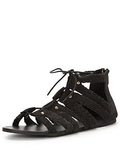 miss-selfridge-miss-selfridge-plait-ghillie-tie-flat-sandal