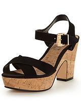 Iyla Suede Ankle Strap Sandal