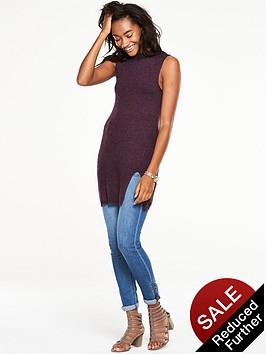 v-by-very-sleeveless-turtle-neck-front-split-jumper