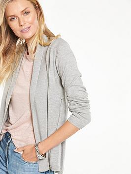 v-by-very-zip-side-edge-to-edge-cardigan