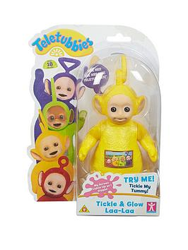 Teletubbies Tickle &Amp Glow Figure Laa Laa