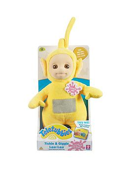 teletubbies-10inch-tickle-amp-giggle-soft-toy-laa-laa