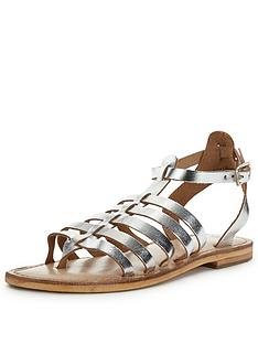 warehouse-metallic-gladiator-sandalsnbsp