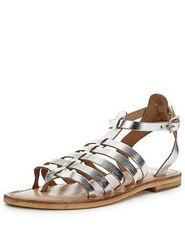 warehouse-metallic-gladiator-sandalsnbsp