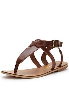 warehouse-ankle-strap-toe-post-sandal