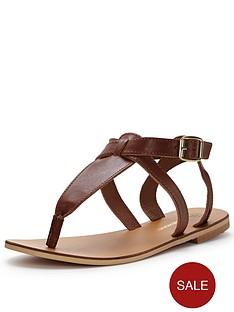 warehouse-ankle-strap-toe-post-sandal