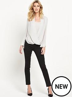 wallis-wallis-longline-wrap-blouse