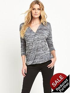 wallis-knit-wrap-top
