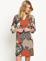WALLIS PAISLEY PATCHWORK TUNIC