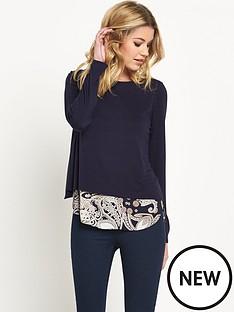 wallis-wallis-paisley-2-in-1-jumper