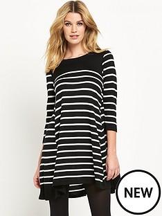 wallis-stripe-swing-dress