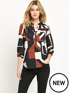 wallis-abstract-geo-print-shirt