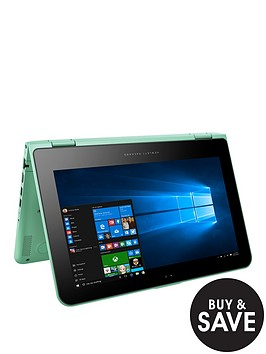 hp-pavilion-x360-11-k103na-intelreg-celeronreg-processor-4gb-ram-500gb-hard-drive-116-inch-touchscreen-2-in-1-laptop-green
