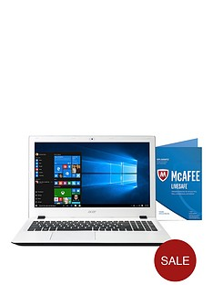 acer-aspire-e5-573-intelreg-coretrade-i3-processor-4gb-ram-1tb-hard-drive-156-inch-laptop-with-mcafee-livesafe-and-optional-microsoft-office-365-home-ndash-white