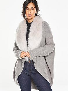 v-by-very-cocoon-cardigan-with-removable-faux-fur-collar
