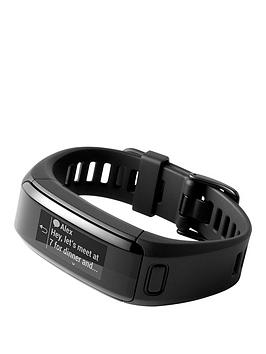 Garmin Vivosmart Hr  Black Size Large