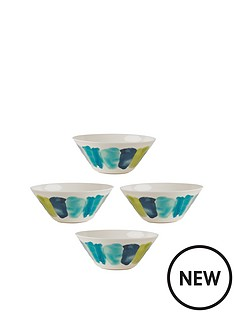 summerhouse-by-navigate-set-of-4-plain-melamine-bowls