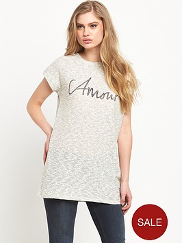 river-island-amour-boucle-t-shirt