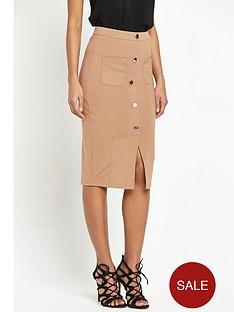 river-island-river-island-jersey-button-through-pencil-skirt