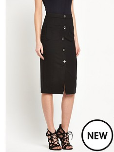 river-island-river-island-jersey-button-through-skirt