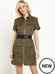 river-island-river-island-military-zip-dress