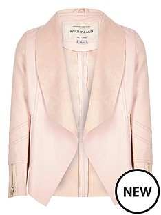 river-island-girls-leather-look-draped-jacket