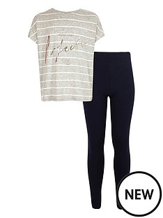 river-island-girls-stripe-slogan-tee-and-leggings-set