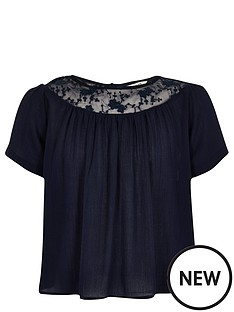 river-island-girls-lace-yolk-smock-top