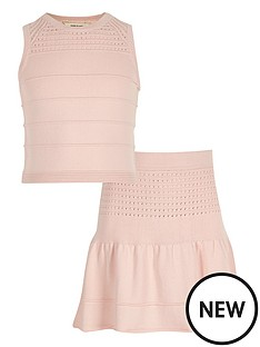 river-island-girls-knitted-top-and-skirt-co-ord-set