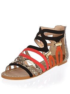 river-island-caged-colour-block-flat-sandals