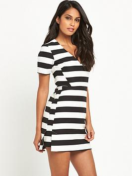 v-by-very-stripe-a-line-dress