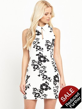 v-by-very-collar-detail-shift-dress