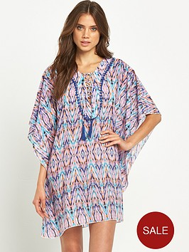 v-by-very-lace-up-front-kaftan