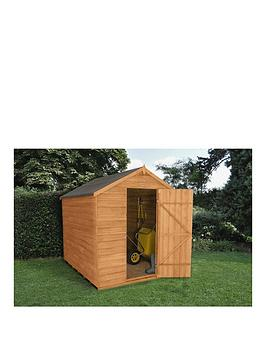 forest-8x6ft-overlap-apex-security-shed-double-doornbspwith-optional-base-and-assembly