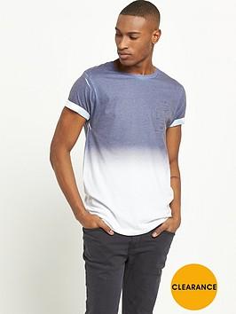river-island-navy-faded-print-mens-t-shirt