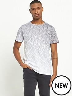 river-island-faded-geo-print-short-sleeve-tshirt