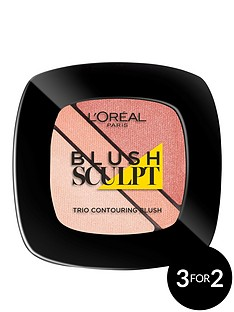 loreal-paris-infallible-face-blush-trio-nude-beige-30g