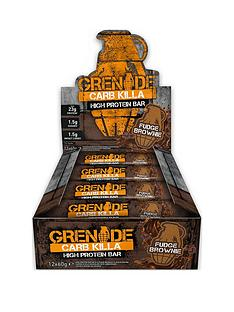 grenade-carb-killa-12-x-60g-bars-fudge-brownie