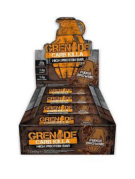 GRENADE Grenade Carb Killa 12 X 60G Bars Fudge Brownie Picture