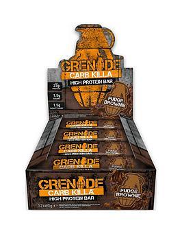 grenade-carb-killa-12-x-60g-bars-fudge-brownie