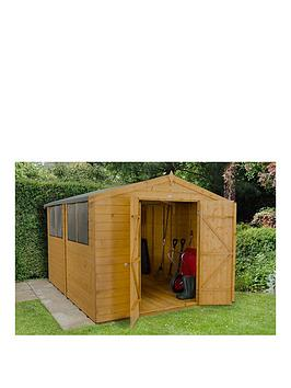 forest-10x8ft-shiplap-apex-dip-treated-double-door-shed