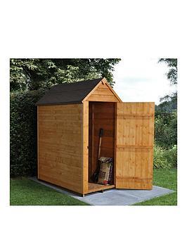 forest-5-x-3ft-value-overlap-apex-starter-shed-with-single-doornbsp