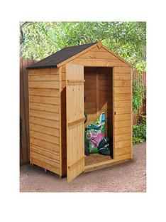 forest-5x3ft-value-overlap-apex-single-door-starter-shed