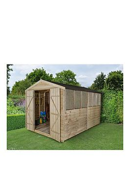 forest-12x8ft-overlap-apex-double-door-shed